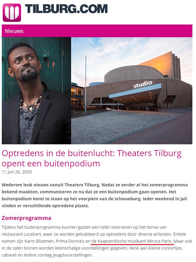 Tilburg new date!