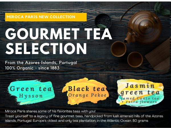 Organic tea from Portuguese islands