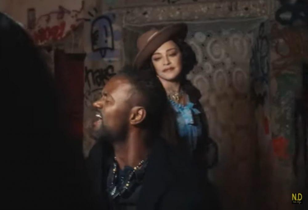 Miroca in Madonna's new documentary