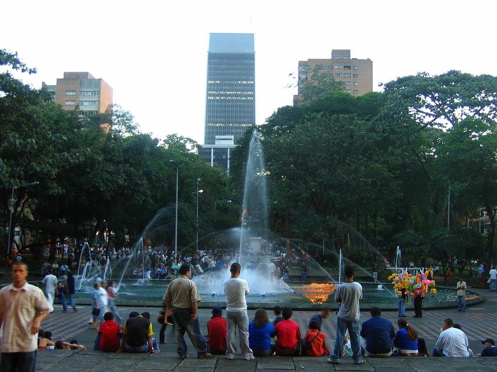 Medellin Parque Centro - Calle Nueva York