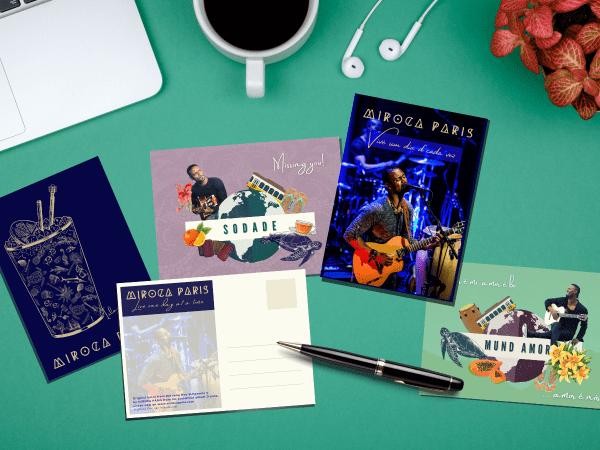 Postcards gift set Miroca Paris